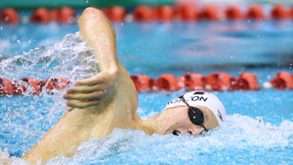 Horton's Olympic hopes still alive after dramatic 200m freestyle heats