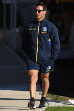 The Eighth Wonder ... Joey Johns popped up at Parramatta training.