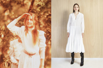 Picnic at Hanging Rock gets a style reboot with this dress from Magali Pascal.