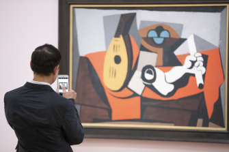 A visitor to the NGA's Matisse and Picasso show records his impressions.