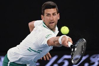 Novak Djokovic has been a more polarising figure than great rivals Roger Federer and Rafael Nadal.