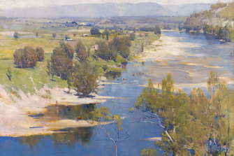 A great landscape: Arthur Streeton 'The purple noon's transparent might', 1896