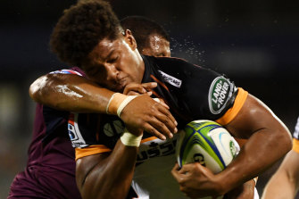 Rob Valetini is under no illusions of the challenge facing the Brumbies across the Tasman this weekend.