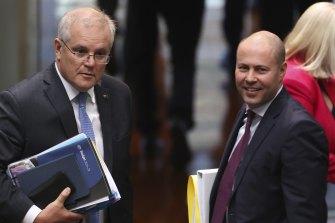 Prime Minister Scott Morrison and Treasurer Josh Frydenberg will speak with Victorian leaders on Wednesday night.