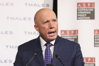 Defence Minister Peter Dutton said the question of how Australia should navigate its relationship with China was not complicated.