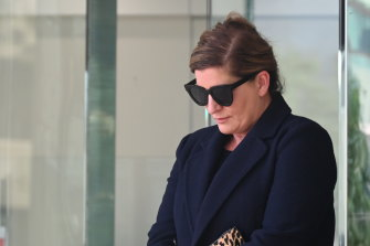 Melissa Hankinson faced a cross-examination from her ex-husband Troy Buswell's lawyer on day three of the trial.