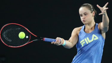 Home comfort: World No.1 Barty soaks up attention, embraces pressure for Open