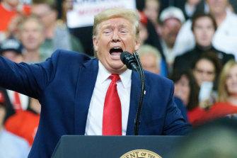 "Donald Trump called Hunter Biden a ""loser"" at the campaign event in Minneapolis."