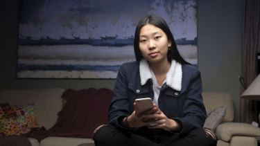 Mia Liu, 16, is much more selective about what she posts on Instagram now than she was as a 12-year-old.