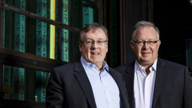Joseph Healy and David Hornery are the founders of SME challenger bank Judo.