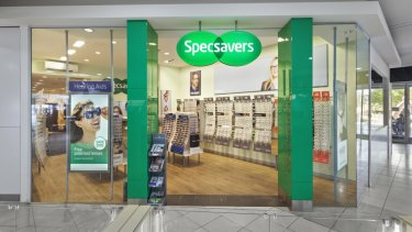 Specsavers at Northcote Plaza.
