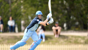 Main attraction: Steve Smith has been a huge hit for his club side Sutherland.