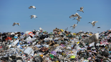 NSW is dependent on landfill for waste disposal.