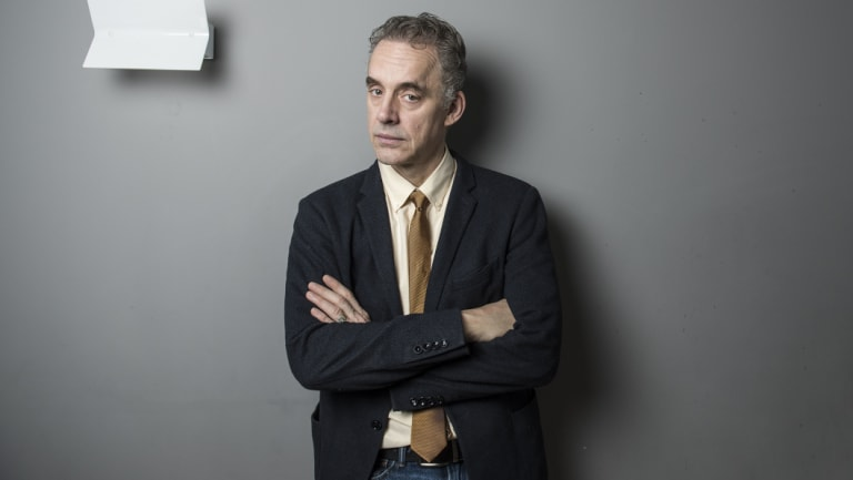 """Jordan Peterson: while one observer describes him as """"brilliant"""", another labels him """"the stupid man's smart person""""."""