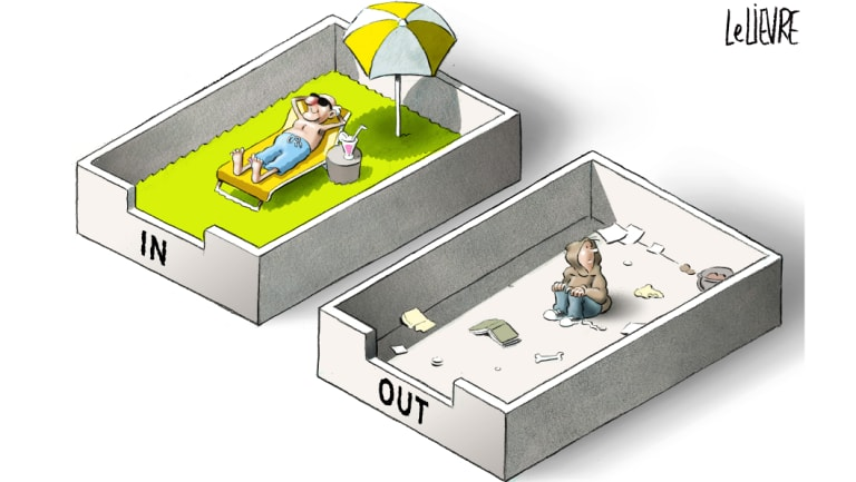Australia's jobless rate among people aged 15 to 24 is more than double the general rate. Illustration: Glen Le Lievre