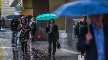 Batten down the hatches: heavy rain is on the way.