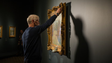 Monet: Impression Sunrise launches at the National Gallery of Australia on Friday.