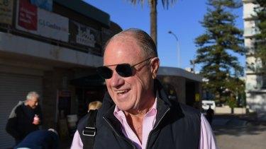 Liberal stalwart Bruce Baird in Warringah this week.