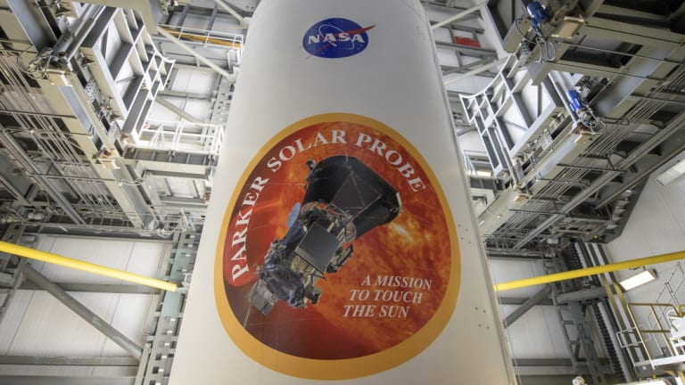 Imagine your brand's name here: on the side of NASA spacecraft. Pictured: the Parker Solar Probe.