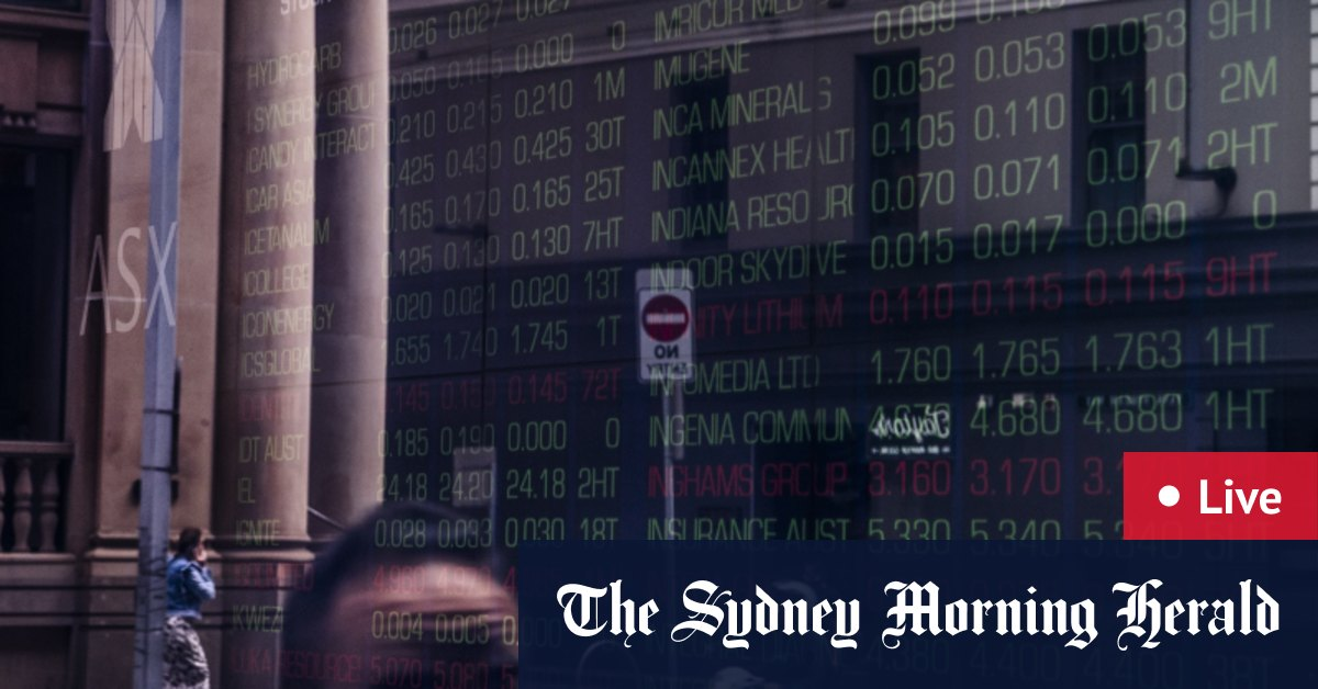 ASX falls 0.5 per cent; Afterpay jumps – The Sydney Morning Herald