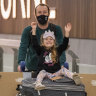 After months stranded in a Cyprus village, family is finally home in Melbourne