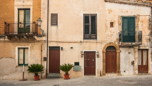 A town in Sicily is selling homes for $1.80 - with a couple of catches