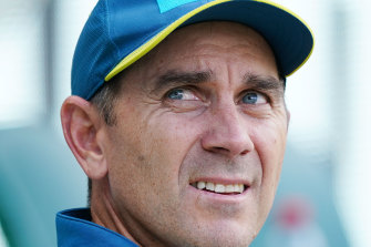 Justin Langer was appointed captain of the Australian Test cricket team in the aftermath of the ball tampering scandal.