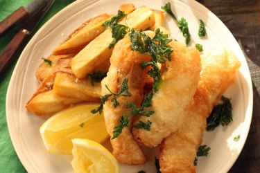 Jane and Jeremy Strode's beer-battered flathead, hand cut chips and tartare sauce recipes.