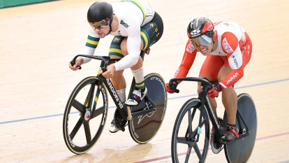 Injured Glaetzer ruled out of world track cycling championships