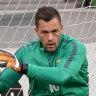 Socceroos keeper could miss entire season after freak injury