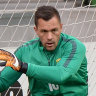 Socceroos keeper could miss entire season after freak injury