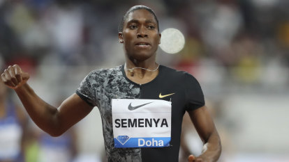 Semenya to get gold from 2011 world championships