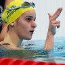 McKeown's double powers Australia towards historic tally in Tokyo
