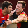 Melbourne in the eight, for now, as they dismantle Essendon