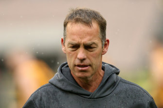 Hawks coach Alastair Clarkson