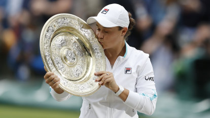 Barty's Wimbledon win was the one we all needed