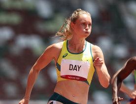 Estafettedag ging door naar de halve finales van de 200 meter.