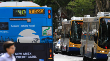 A Gold Coast lawyer has called for changes to make buses safer.