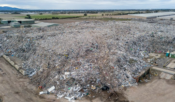 An environmental and health catastrophe waiting to happen next to Geelong.