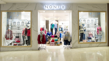 Noni B said December sales were better than expected.