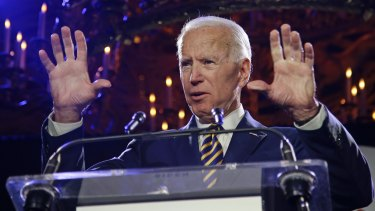Actions under scrutiny: Former vice-president Joe Biden.