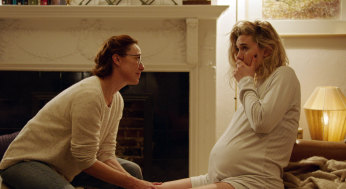 Molly Parker, left, and Vanessa Kirby in 'Pieces of a Woman'.