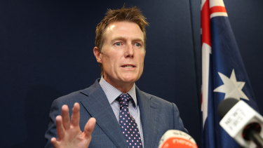 Attorney-General Christian Porter has vigorously denied the rape allegations.