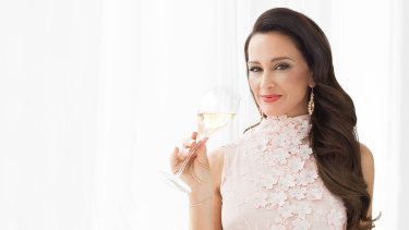 Kyla Kirkpatrick, the Champagne Dame, is on her way to the Canberra Centre.