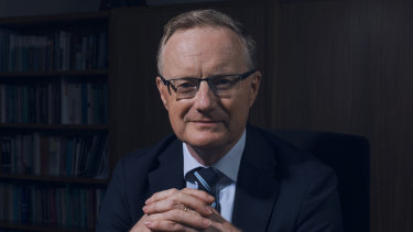 RBA governor Philip Lowe. His hand might be forced if the US dollar starts to depreciate.