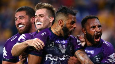 Josh Addo-Carr and the Storm were too good for Parramatta.