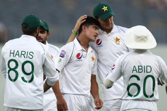 Change of pace for Pakistan.
