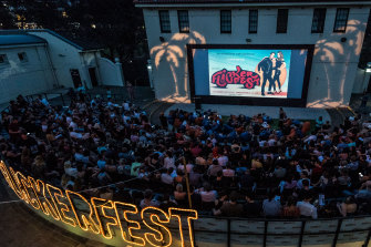 Screened under the stars at Bondi Pavilion, film buffs flocked to the event in its 29th year.
