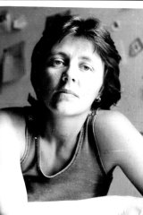 Helen Garner in 1977, after the publication of her first novel, <i>Monkey Grip</i>.