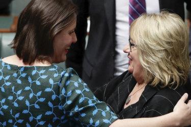 'A brutal business': Kelly O'Dwyer and Jenny Macklin bid farewell to Parliament